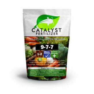 Catalyst All purpose garden fertilizer bag