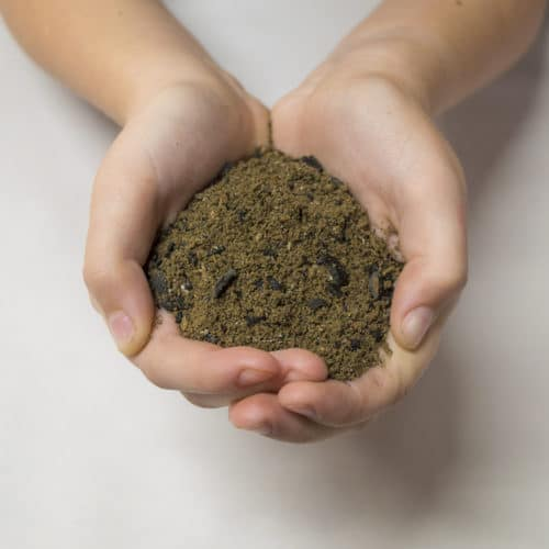 biochar version of Catalyst natural fertilizer