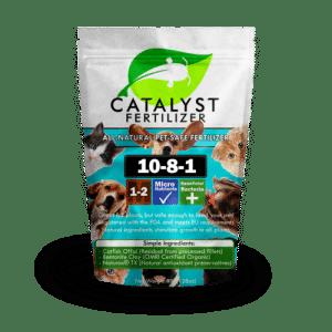 Pet safe version of Catalyst natural fertilizer