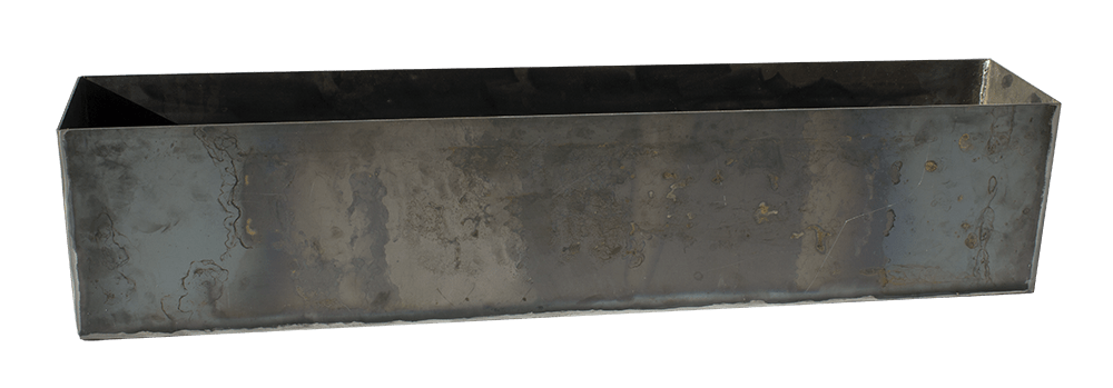 Modern Steel Planter Box – Heavy Duty Metal
