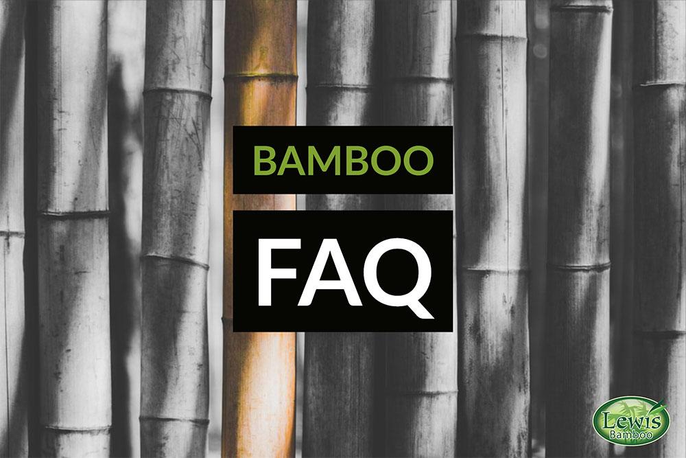 Bamboo FAQ