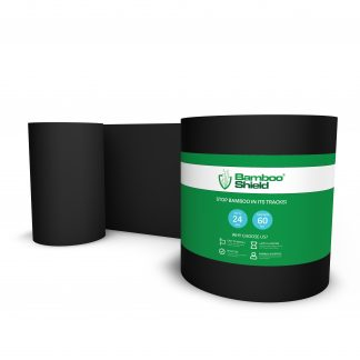 Bamboo Shield Root Control Barrier 24 inches deep